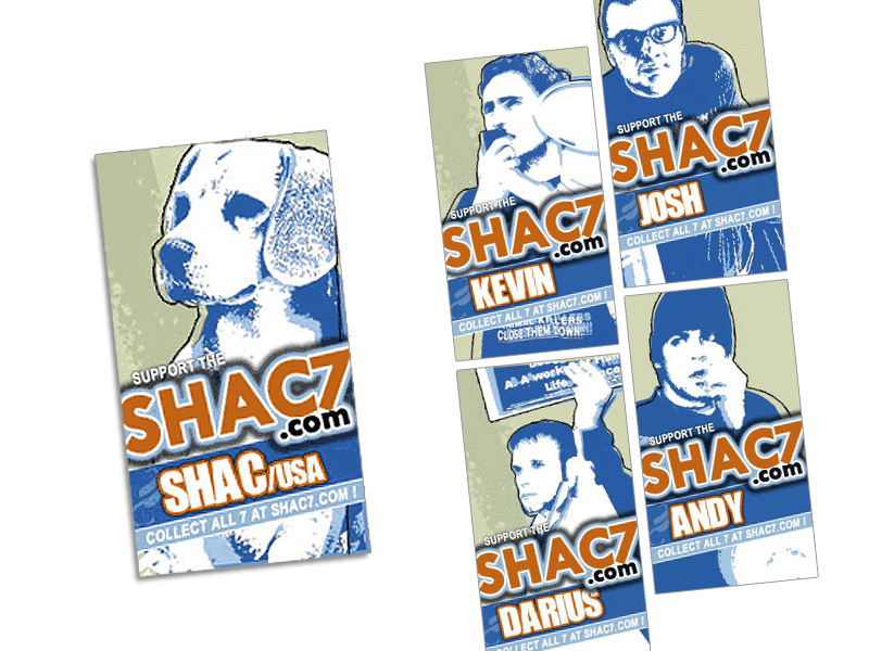 SHAC7 Support Banners