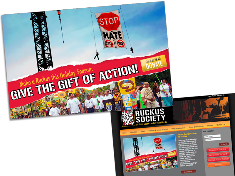 Ruckus Donation Ad